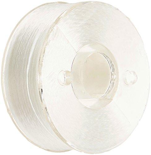 Polyester Prewound Bobbins (Exquisite Prewound White Polyester Style L Sewing Bobbins 120 Yards - White, 1 Gross (144 Bobbins))