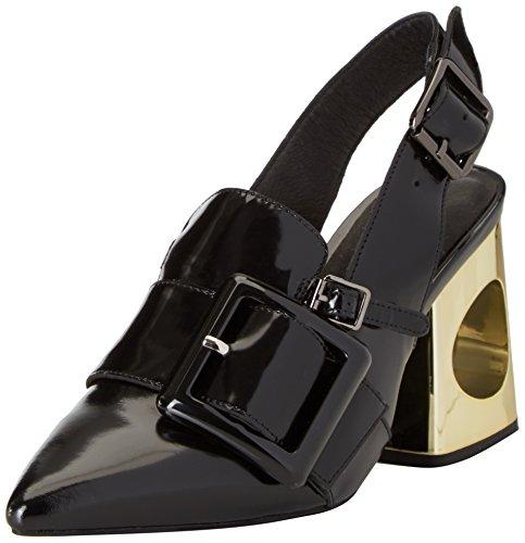 Delvida Plateforme Noir Sandales Nero Jeffrey Campbell Femme 70n5zCxCqw
