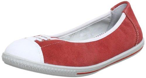 Ricosta BLISS(M) 5023100 Mädchen Ballerinas Rot (KORALLE 341)