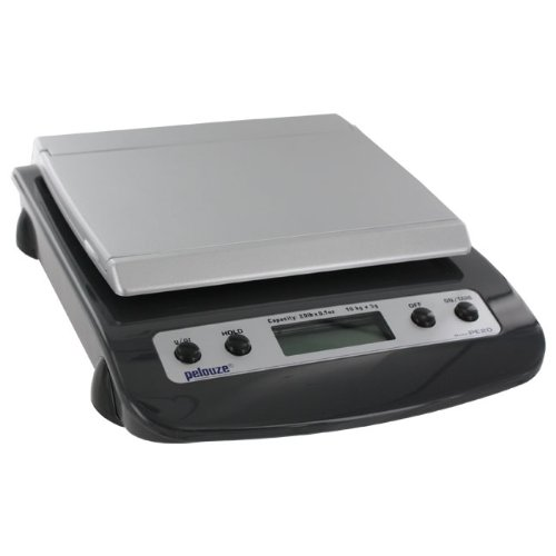 Pelouze PE20 Straight Weigh Postal Scale, 20-lb. x 0.1-oz./10kg. x 5g. Capacity