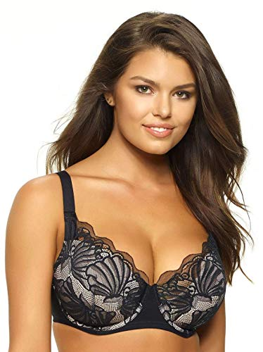 - Paramour by Felina | Tempting Plush Contour Bra (Black, 38DD)