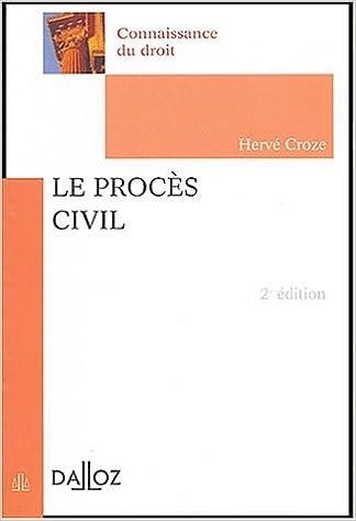En ligne téléchargement gratuit Le procès civil pdf