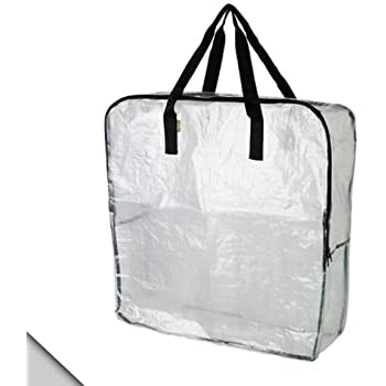 Delightful IKEA   DIMPA Storage Bag, Clear (FBA)