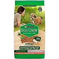 Ração Dog Chow para Cães Filhotes de Raças Pequenas Sabor Carne e Arroz - 1kg Purina para Todas Pequeno Filhotes - Sabor Carne