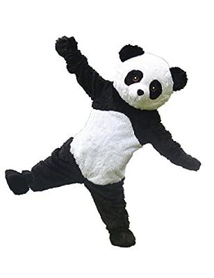 MascotShows Panda Mascot Costume