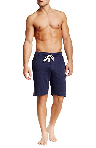 Bottoms Out Men's Excellent Soft Comfortable Fit Solid Knitted Lounge Hangout Compression Men's Sweat Shorts for Men