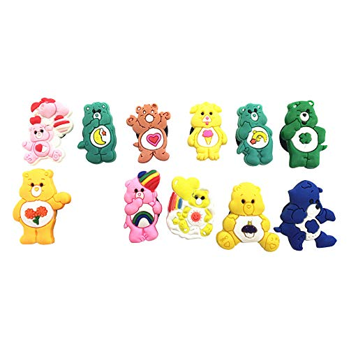 11pcs Shoe Charms for Croc & Bracelet Wristband Kids Party Birthday Gifts #030