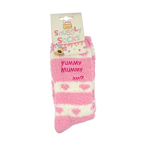 Boofle Yummy Mummy Fluffy Slipper Socks 70211