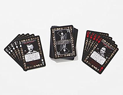 Serial Killer Cards 54 Unique American Serial Killer Playing Cards