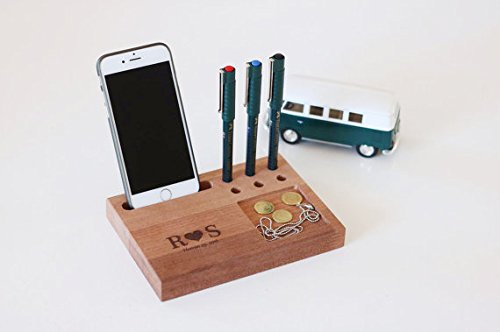 Personalized Docking Station, Anniversy Gifts for Men, Mothers Day Gifts