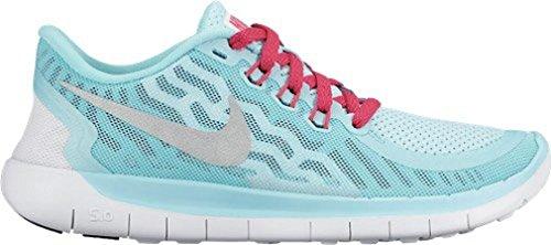 Nike Free 5.0 (GS), Zapatillas de Running para Niñas, Multicolor Azul