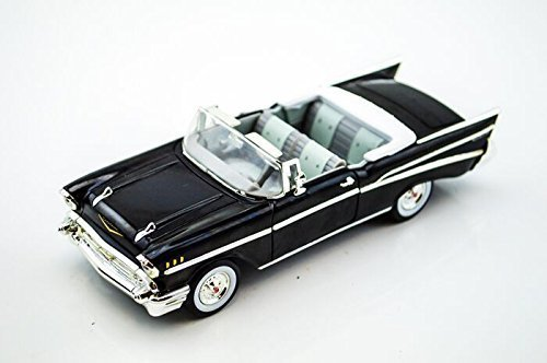 Signature Models 1957 Chevrolet Bel Air Convertible 1/32 Black by Collectable Diecast