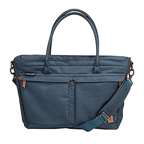 Ricardo Beverly Hills San Marcos 18-inch Shopper Tote, Midnight Teal (Last Kings Pouch)