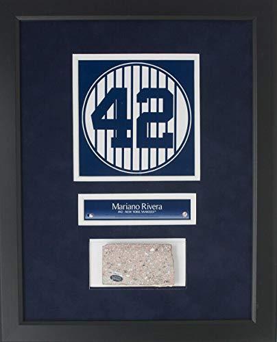 - Mariano Rivera Framed 14x18 Yankees Stadium Monument Park Brick Collage - Steiner Sports Certified - Game Used MLB Stadium Equipment