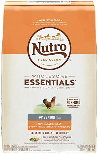 NUTRO WHOLESOME ESSENTIALS Senior Dry Dog Food
