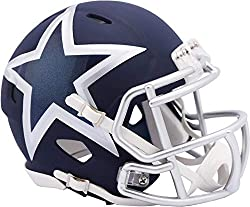 This Riddell Alternative Speed mini helmet features a plastic facemask, realistic interior foam padding and vinyl-leather chin strap. It is officially licensed by the National Football League. Size: 1/4 scale versions of NFL football helmets. If a pr...