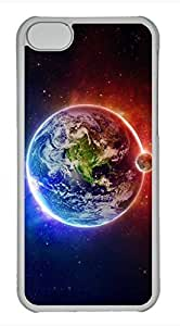 iPhone 5c case, Cute Earth 2 iPhone 5c Cover, iPhone 5c Cases, Hard Clear iPhone 5c Covers