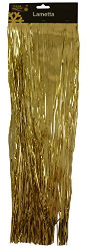 42cm Long Gold Lametta Garland Christmas Decoration
