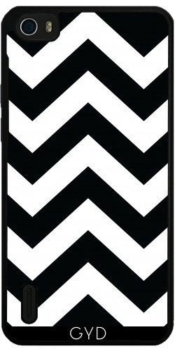 Funda de silicona para Huawei Honor 6 - Galones En Blanco Y Negro by loki1982