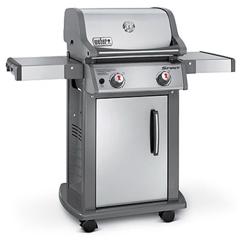 Weber 46100001 Spirit S210 Liquid Propane Gas Grill, Stainless Steel (Stainless Steel Bbq Gas Grill compare prices)
