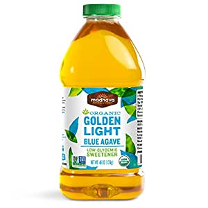 Madhava Organic Light Agave, 46-Ounce (Pack of 2)