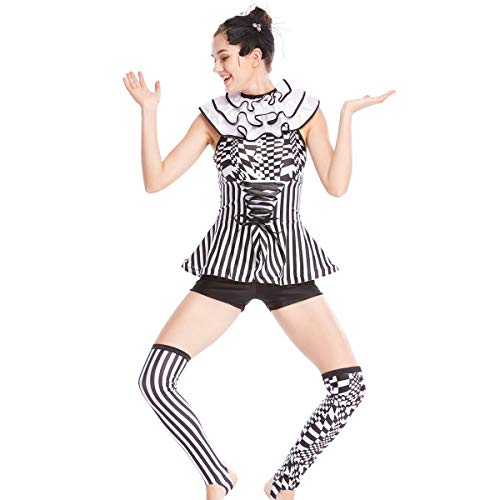 MiDee Character Tap & Jazz Costume Dance Dress Stage Competition Performance Wear (MC)