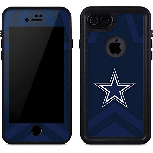 Nfl Cowboys Dallas Case (Skinit NFL Dallas Cowboys iPhone 8 Waterproof Case - Dallas Cowboys Double Vision Design - Sweat-Proof, Snow-Proof, Dirt-Proof, Dust-Proof Phone Cover)