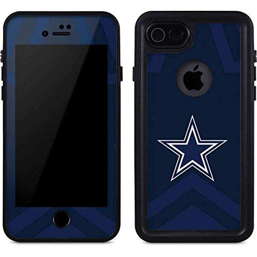 Skinit NFL Dallas Cowboys iPhone 8 Waterproof Case - Dallas Cowboys Double Vision Design - Sweat-Proof, Snow-Proof, Dirt-Proof, Dust-Proof Phone ()