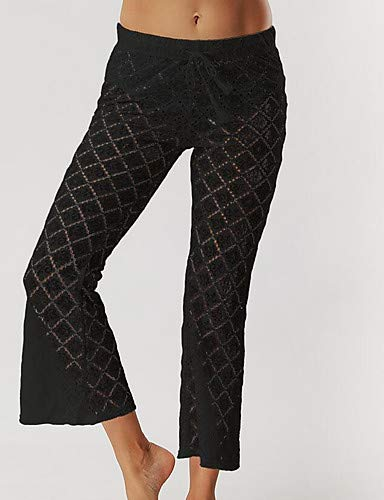 Tinta Black Active da larghi Pantaloni donna unita YFLTZ XwZqAxS
