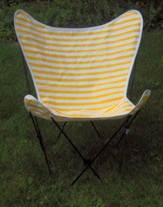 Amazon Com Cabana Stripe Butterfly Chair Replacement