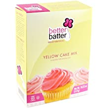 Better Batter Cake Mix Gluten Free Yellow -- 18.25 oz