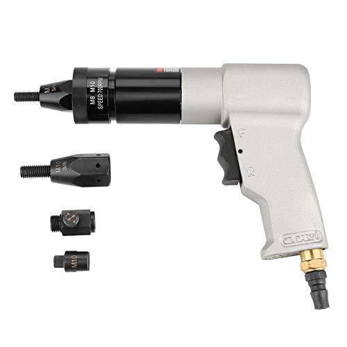 Air Riveter Gun Pull Nut Automatic Pneumatic Riveting Nut Gun Tool(M8/M10) by Wal front (Image #7)