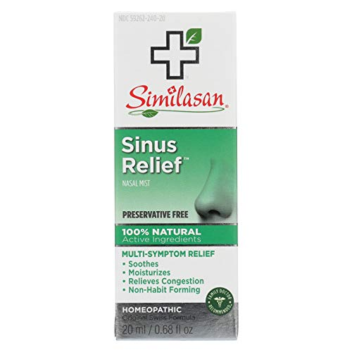 Similasan Sinus Relief Nasal Mist 0.68 oz
