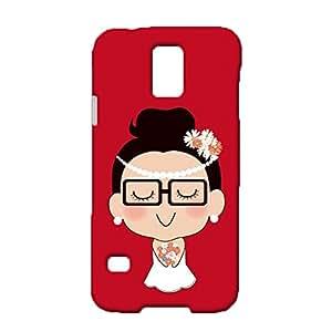 Samsung Galaxy S5 I9600 Case,Wonderful Boy and Girl Couple Matching Design Premium Printed 3D Slim Phone Back Case Snap on Samsung Galaxy S5 I9600