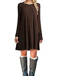 Amazon.com: Brown - Dresses / Clothing: Clothing, Shoes & Jewelry