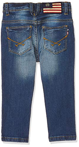 US Polo Association Boy's Jeans 2021 June Care Instructions: Machine Wash Color Name: Mid Blue 100% Cotton