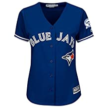 Toronto Blue Jays 40th Season Lady's Cool Base Jersey Away