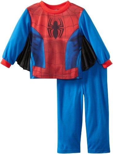 Spiderman Little Boys' Uniform 2 Piece Sleep Set
