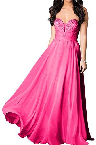 Topkleider mujer rosa Vestido trapecio 52 para wq6S4Cw
