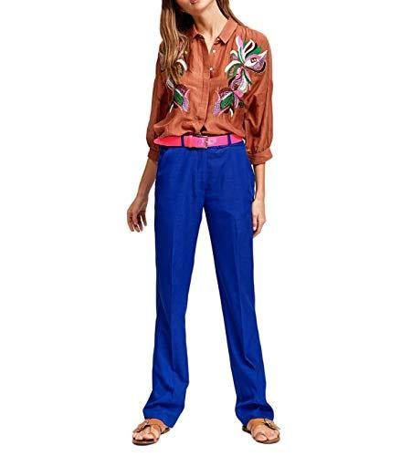Solution2 Ta09 Antwerp Shirt Camicia Essentiel Marrone Fiori Donna 29199 dqXwRwvx0
