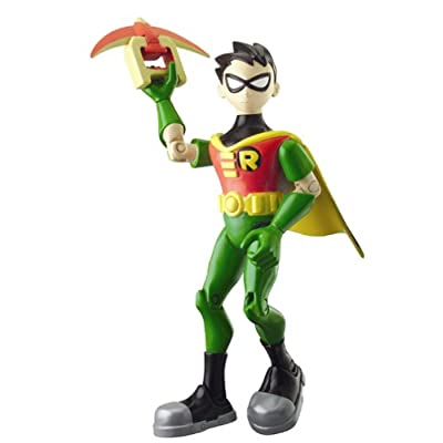 "Teen Titans 5"" Action Sounds Robin Action Figure: Toys & Games"
