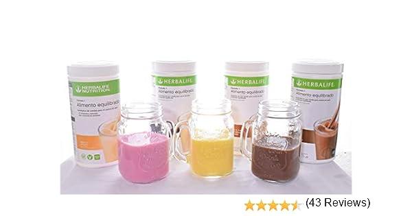 Herbalife Fórmula 1 550 g 8 sabores Disponibles: Amazon.es: Hogar