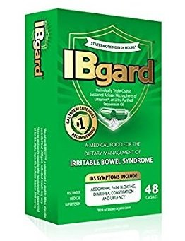 IBgard Irritable Bowel Syndrome Capsules, 48 Capsules Per Box (11 Boxes) by IBgard