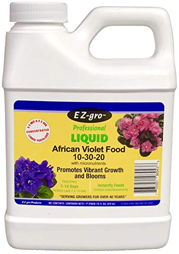 African Violet Food by EZ-GRO | Our African Violet Fertilizer is Specially Formulated to Meet The Unique Needs of African Violets | EZ-GRO African Violet Plant Food is Urea Free ()