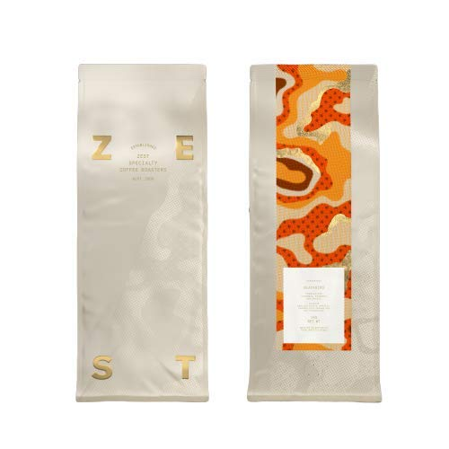 Zest Espressist Blend, Blackbird. Award Winning Specialty Coffee. Roasted Fresh for Espresso. (Whole Beans, 1KG)