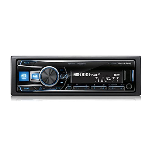 UTE 62BT Alpine In Dash Single DIN Digital Media Receiver do