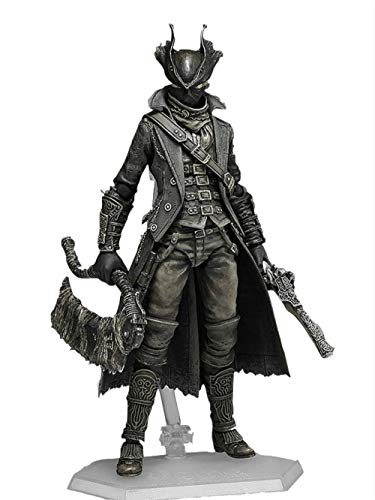 - Game Bloodborne Hunter Figma 367 PVC Action Figure Collectible Model Toy Gift