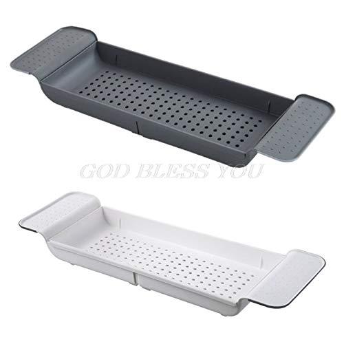 - Peppermint. Storage Holders & Racks - Tub Bathtub Shelf Caddy Shower Expandable Holder Rack Storage Tray Over Bath Multifunctional Organizer for Bathroom Shower - by GTIN - 1 Pcs