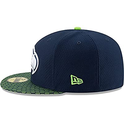 New Era Seattle Seahawks NFL 17 Sideline 59fifty 5950 Fitted Cap Limited Edition