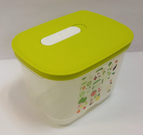 Tupperware Ventsmart Rectangular Small High 1.8 L (1 Piece) Next Generation Breathable Container to Keep Your Food Fresh in Fridge